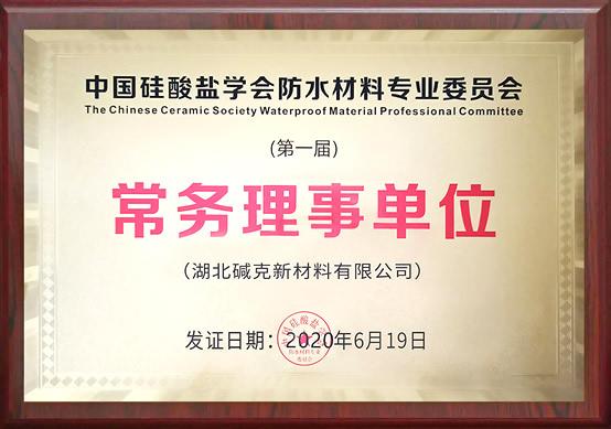 贝博手机中国硅酸盐学会常务理事单位